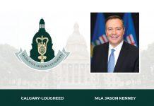 Calgary Lougheed Jason Kenny