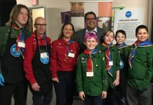 Thorncliffe Scouts Some Scouts take a break to meet Mayor Nenshi