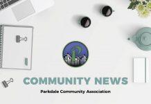 PD PARKDALE COMM NEWS