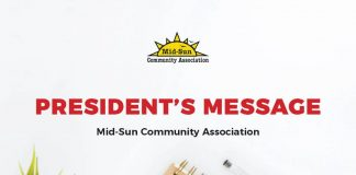 Presidents Message MidSun