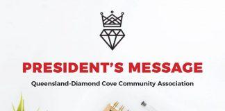 Presidents Message Queensland Diamond Cove