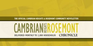 Community Newsletter CambrianHeights