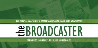 Community Newsletter CoachHill Broadcaster
