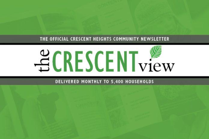 Community Newsletter Crescent Heights
