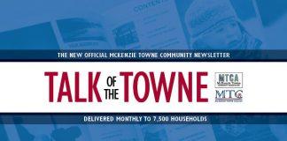 Community Newsletter MckenzieTowne
