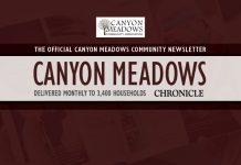 Community Newsletter CanyonMeadows