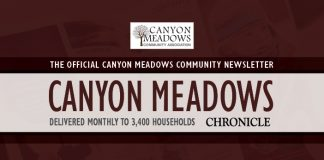 Community Newsletter CanyonMeadows