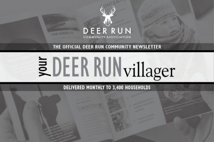 Community Newsletter DeerRun