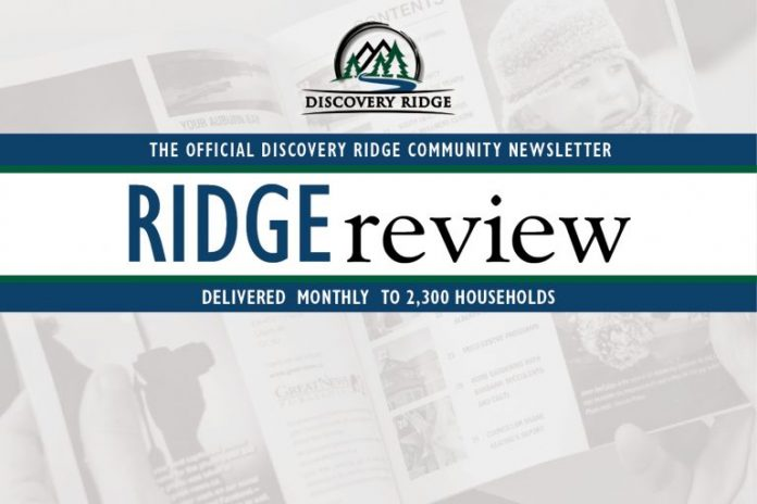 Community Newsletter DiscoveryRidge e
