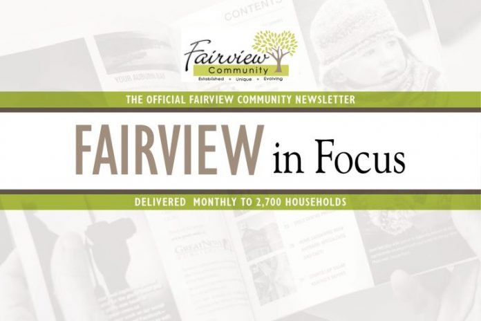 Community Newsletter Fairview