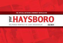 Community Newsletter Haysboro