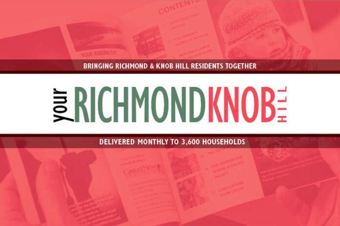 Community Newsletter Richmond Knob HIll