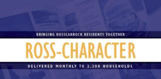Community Newsletter RossCharacter