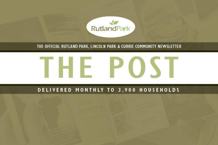 Community Newsletter Rutland