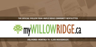 Community Newsletter WillowRidge