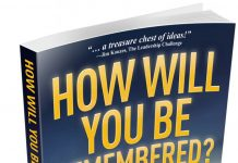 In My Books – How Will You Be Remembered