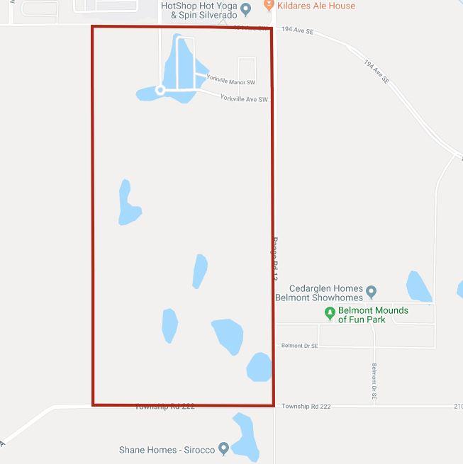 Google Map of Yorkville, Calgary, AB
